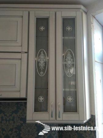 Белая кухня в стиле Прованс