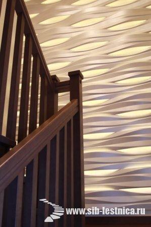 Двери и лестница из березы